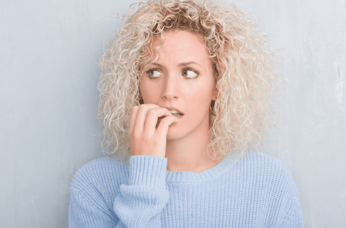 Nail Biting is bad for oral health