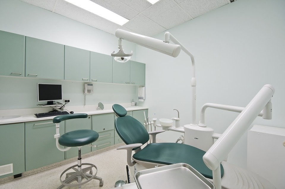 Dentist, Dental Office, Dentistry, Gray Office