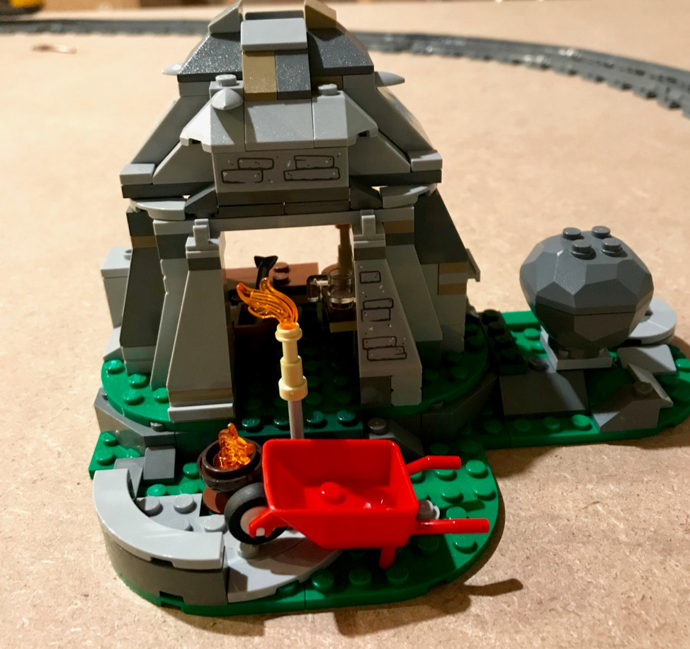 Example of a completed Lego set