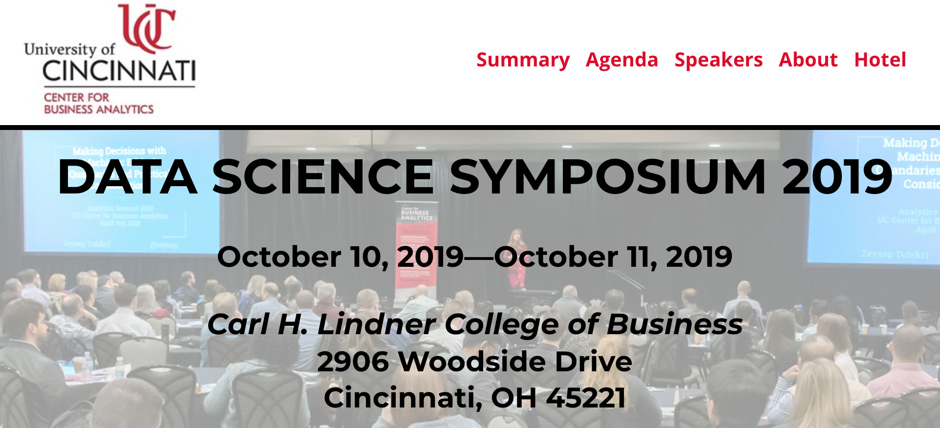 Image of the Data Science Symposium banner