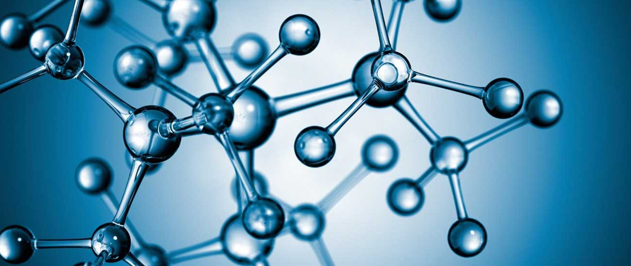 Picture of a molecular structure