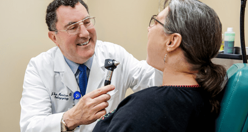 Throat-related care for Louisiana Patients