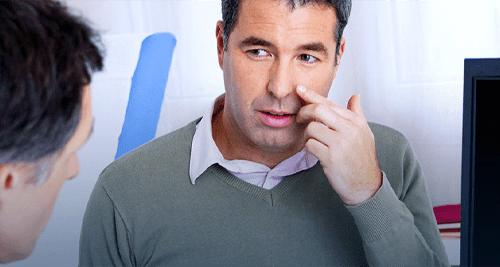 Stop suffering from chronic sinusitis symptoms