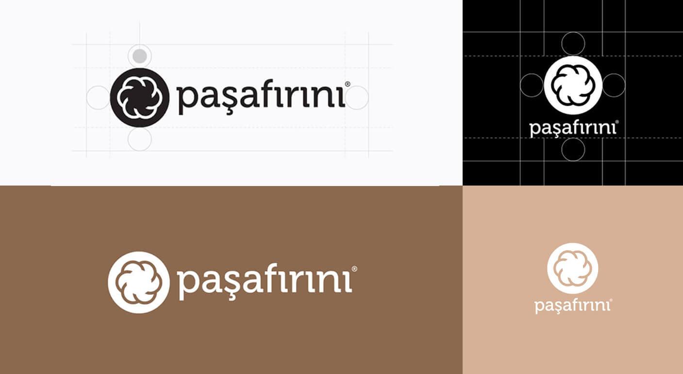 Pasafirini golden ratio, flower of life logotype design process