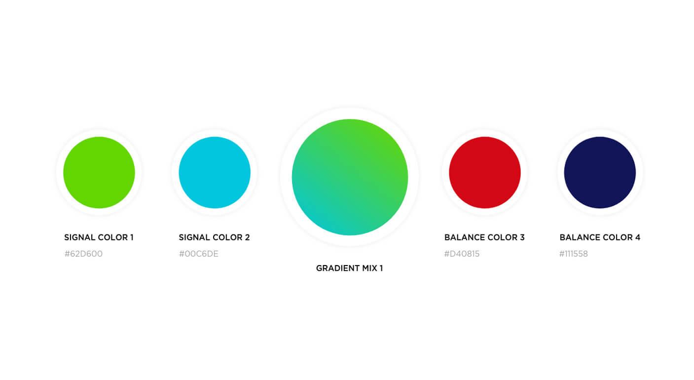 Colendi Corporate ID Golden Ratio Logotype Design Process Colors