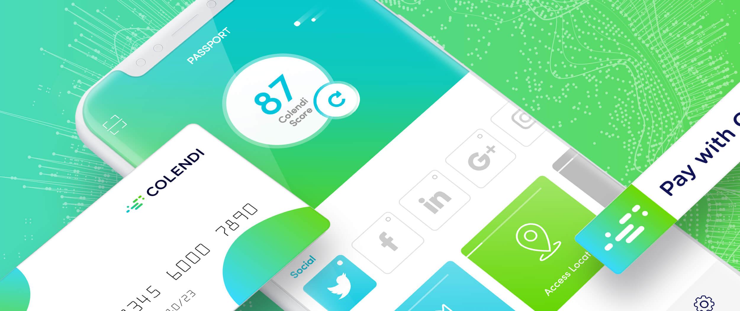 Colendi re-branding & mobile app user experience design