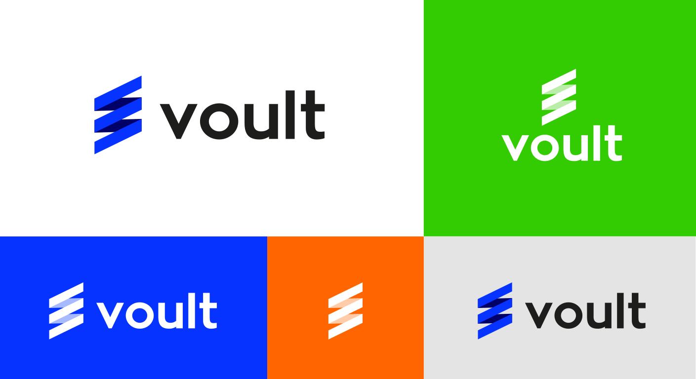 Voult Corporate Identity Golden Ratio Logotype Design