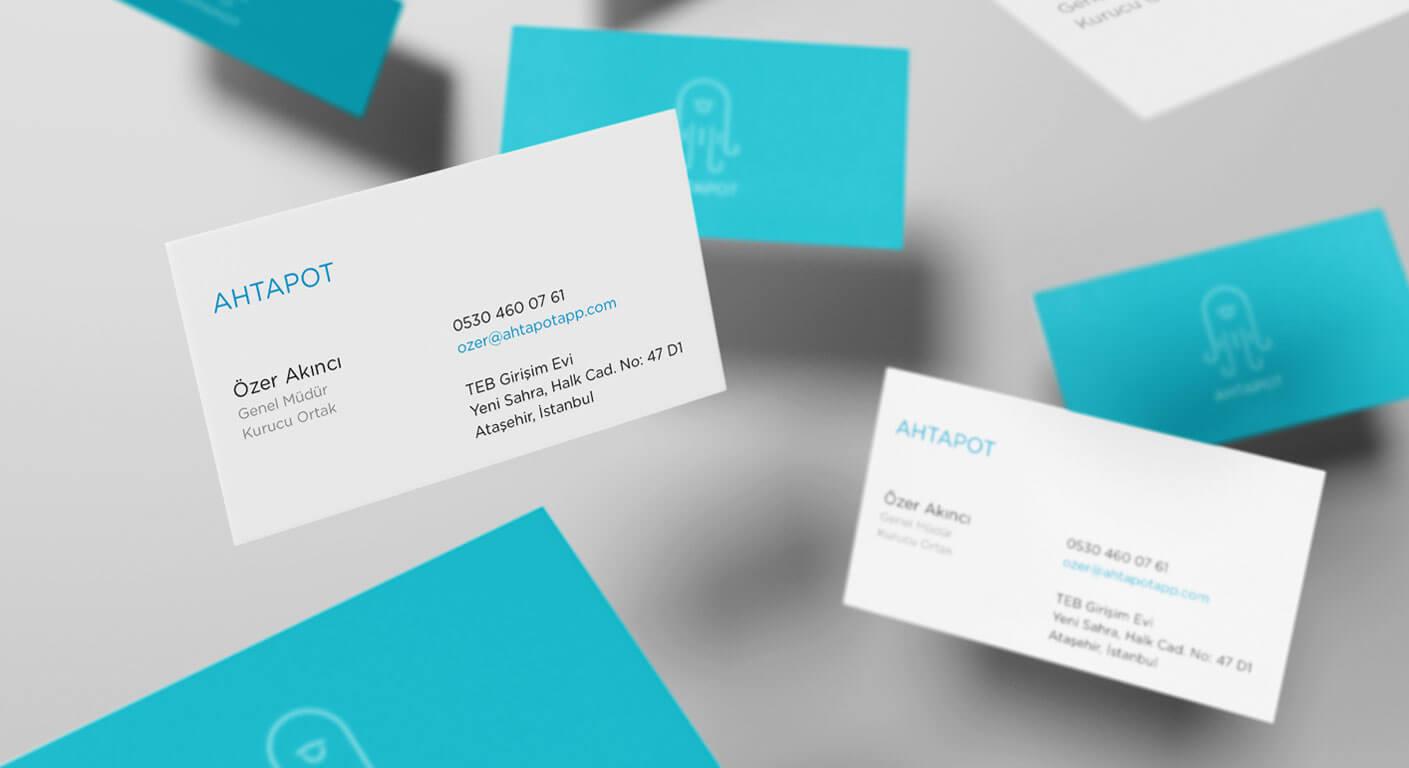 Ahtapot App Corporate Branding Design