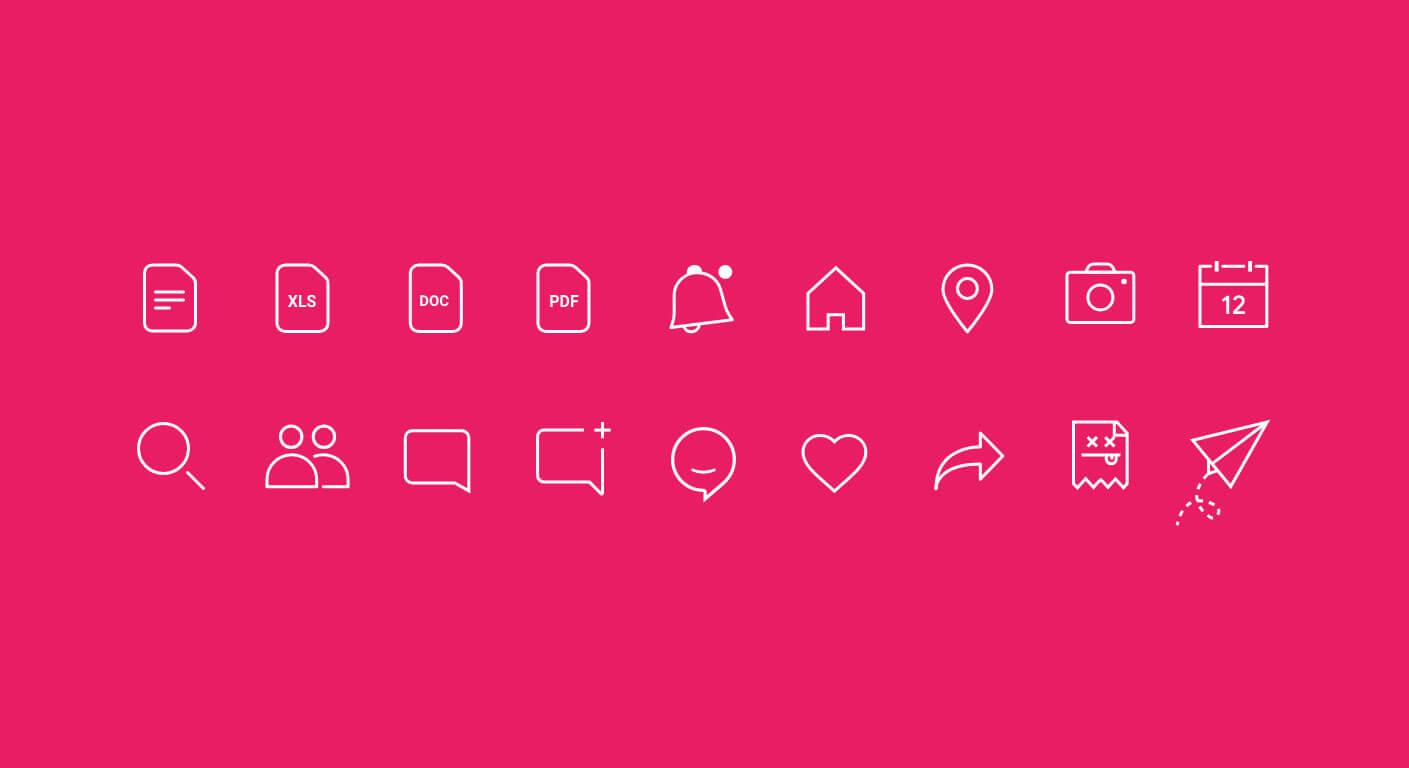 Ahtapot Mobile App Custom Icon Design