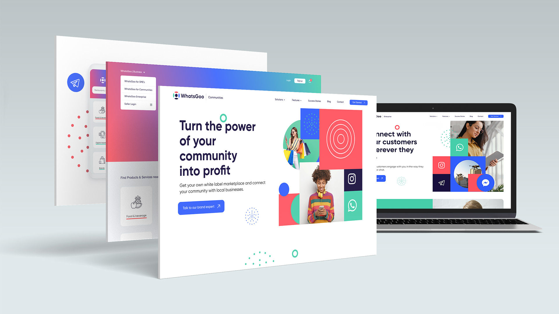 Contentus Web User Experience and Interface Design