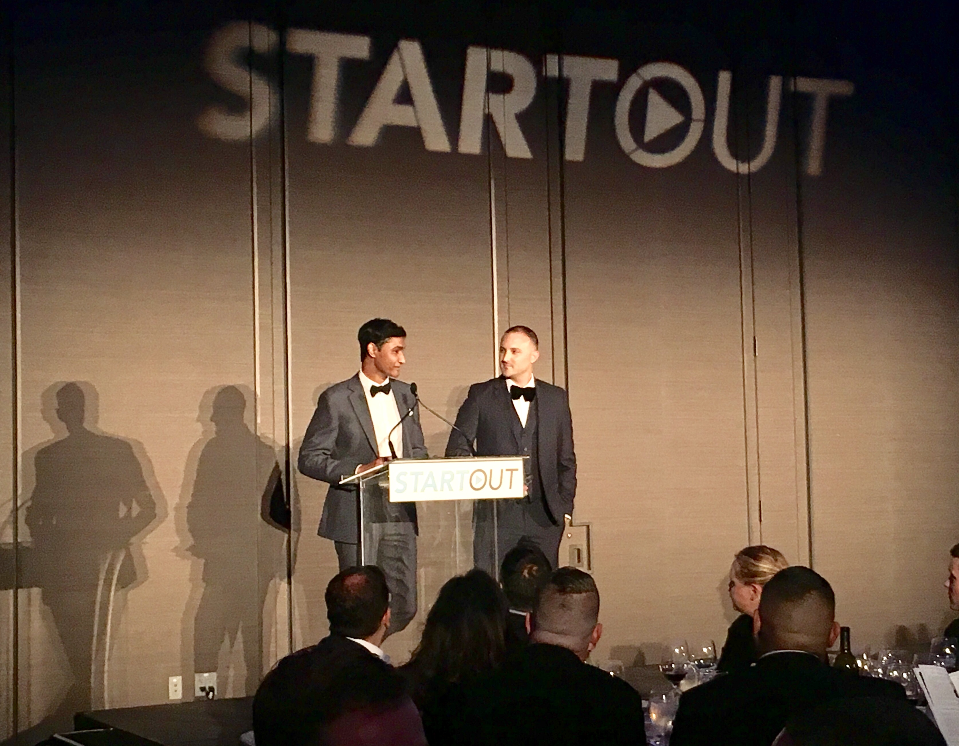 Zeguro Founders Honored at 8th Annual StartOut Awards Friday