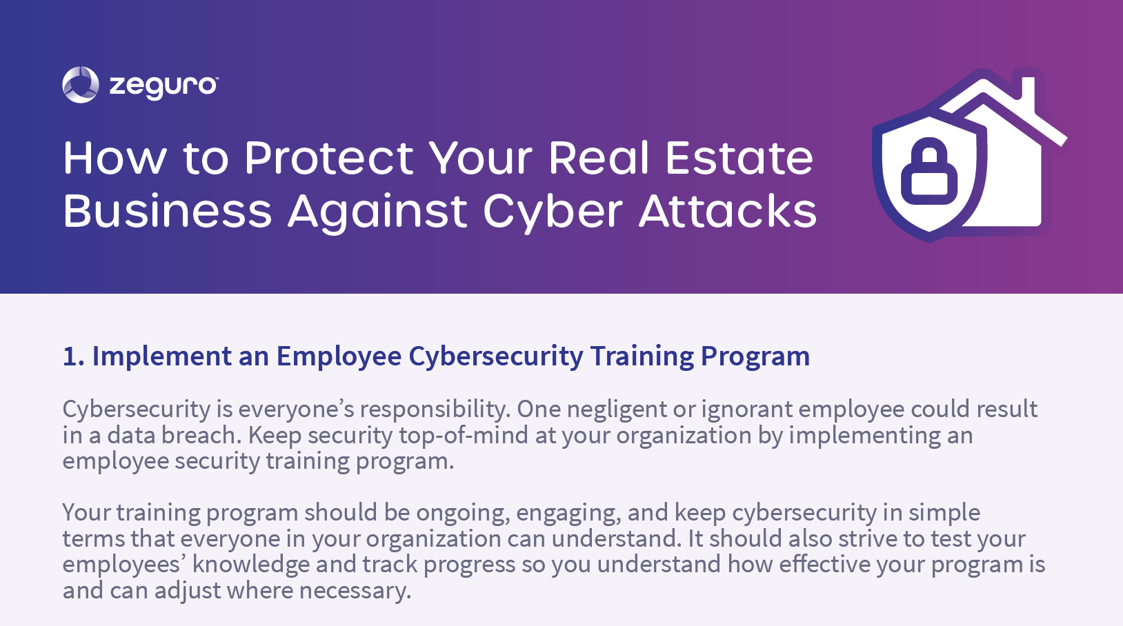 Real Estate Cybersecurity Guide
