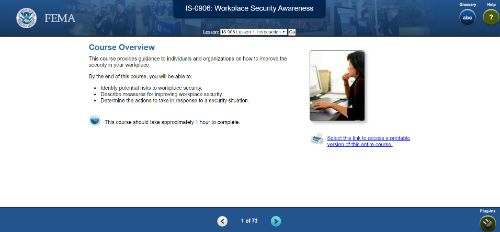 IS-0906: Workplace Security Awareness