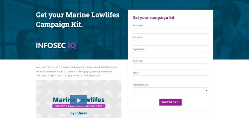 Marine Lowlifes Cybersecurity Awareness Campaign Kit