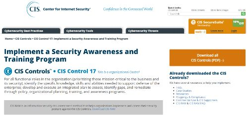 Implement a Security Awareness and Training Program