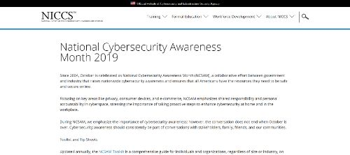NCSAM Cybersecurity Trivia Game