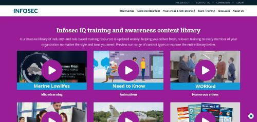 Training and Awareness Content Library