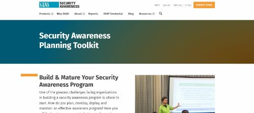 SANS Security Awareness Planning Toolkit