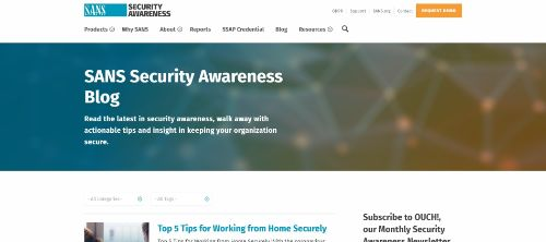 Security Awareness Blog