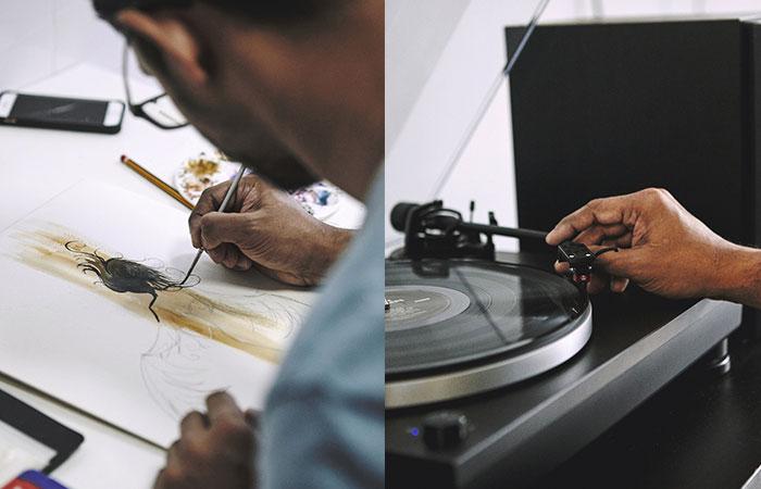 Art and Music - Rishi Naleendra