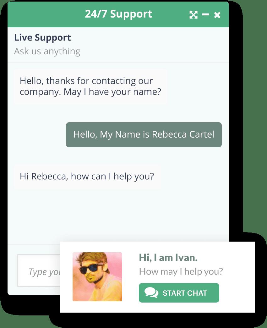 Live Chat | Insites