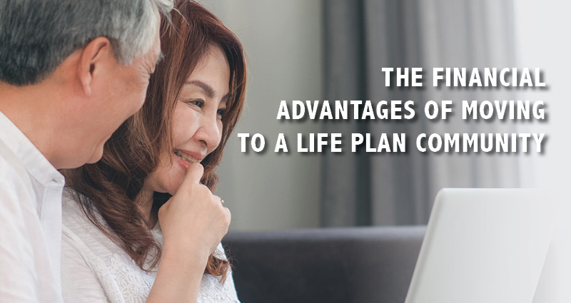 The financial advantages of moving to a life plan community webinar