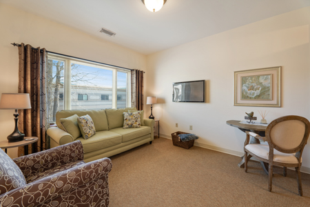 St. Camillus Assisted Living Living Room