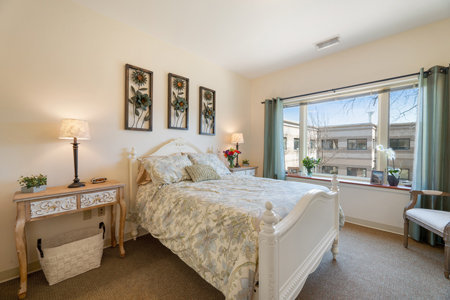 St. Camillus Assisted Living Bedroom