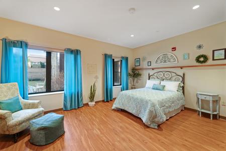 St. Camillus Memory Care  Bedroom area