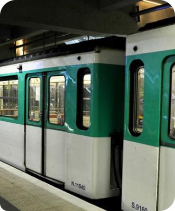 RATP Metro Train