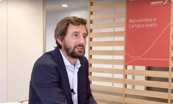 Iberia's Chief Transformation Officer Discussing Working with Mindsay