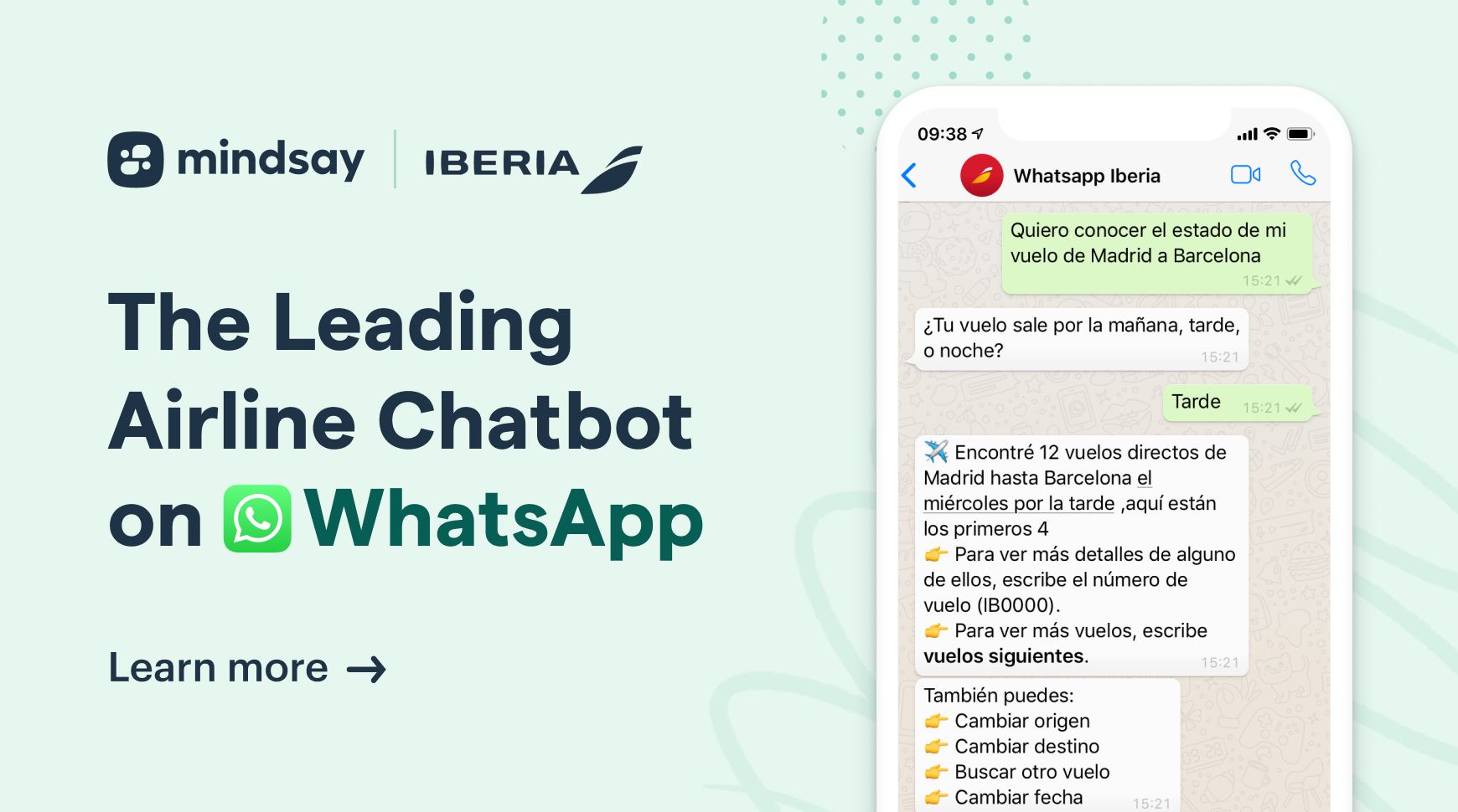 WhatsApp chatbots have touched down in the airline industry