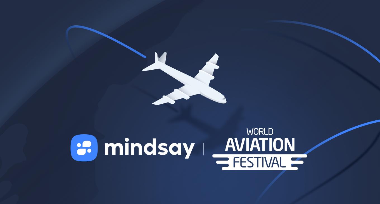 Mindsay at the World Aviation Festival