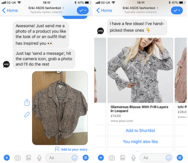 ASOS Fashion Chatbot