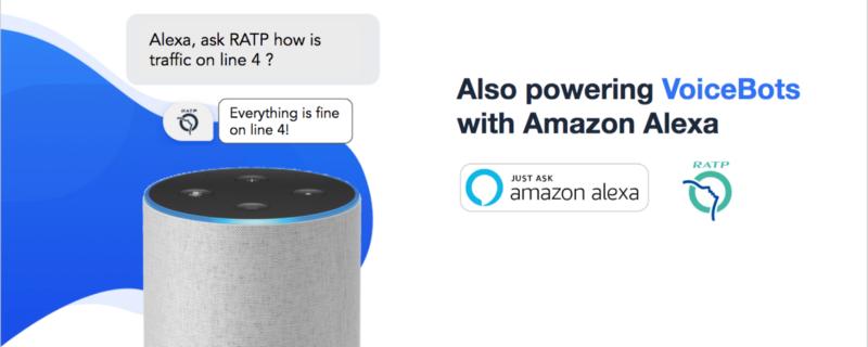 RATP Bot on Amazon Alexa