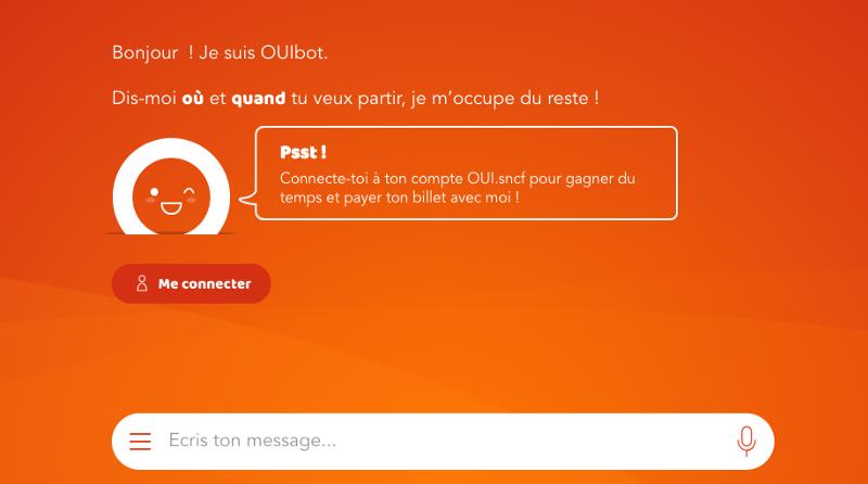 OUI SNCF Bot