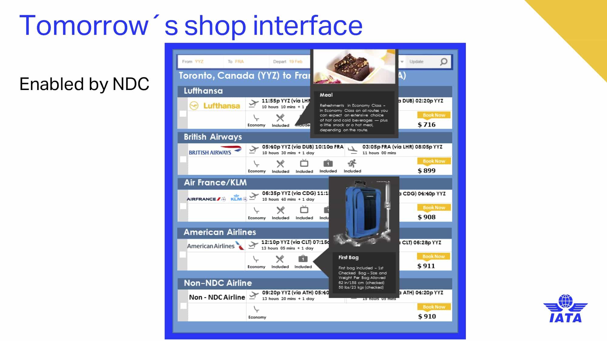 Tomorrow's Shopping Interface