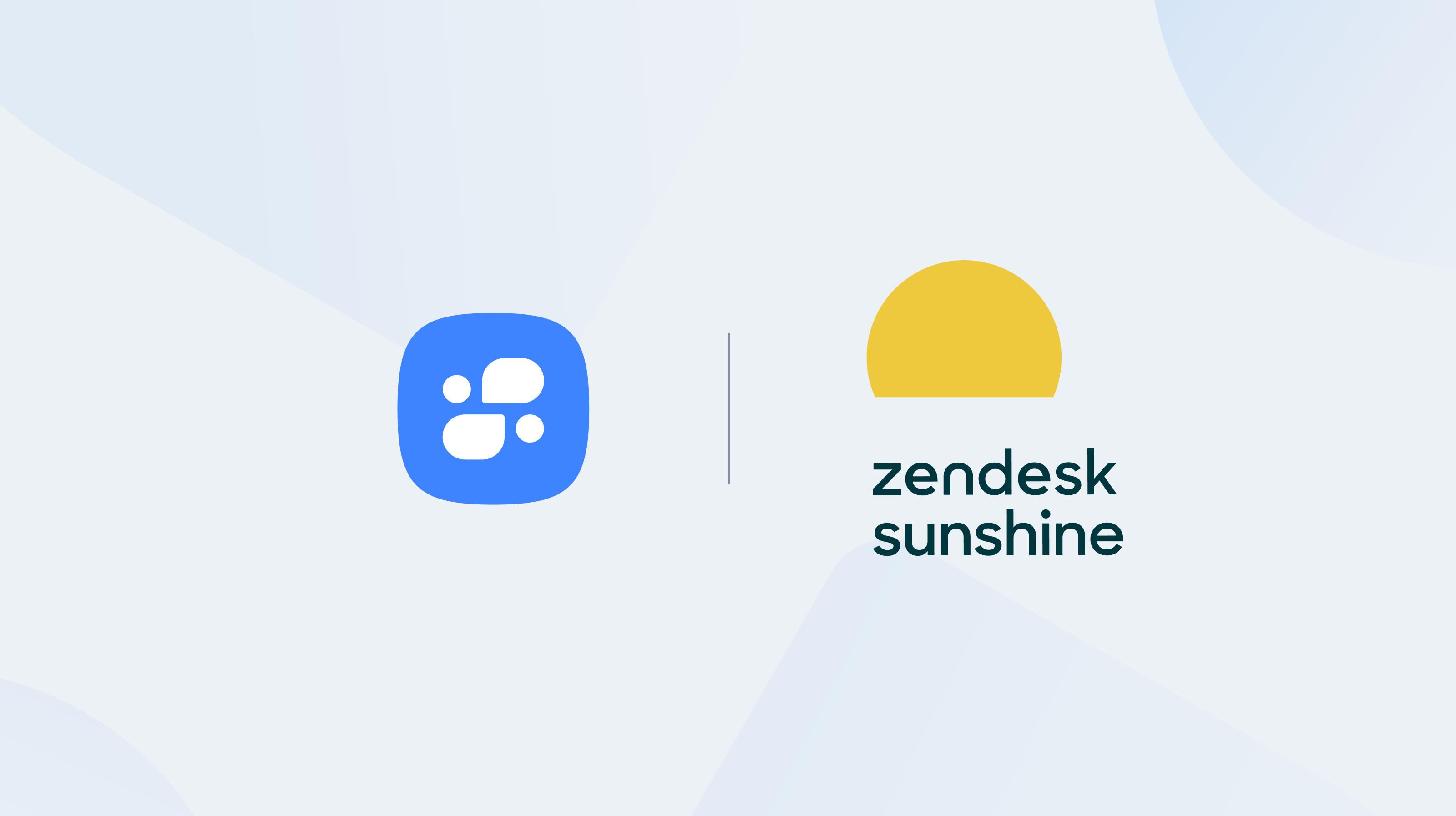 Mindsay + Zendesk Sunshine Logos