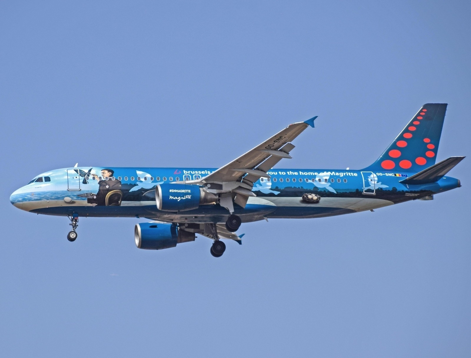 Brussels Airlines Plane Flying