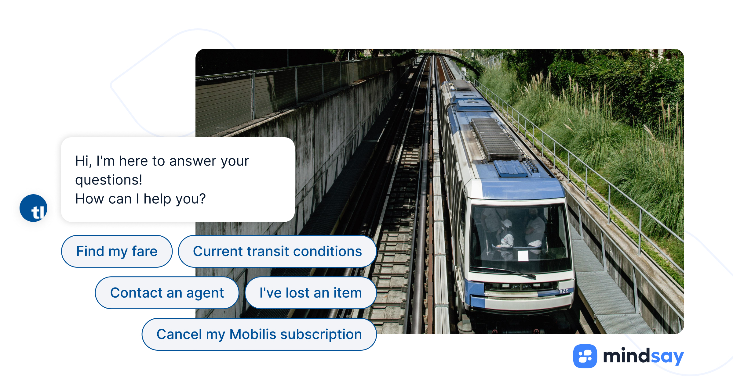 Improving Agent Efficiency with a Chatbot | Mindsay