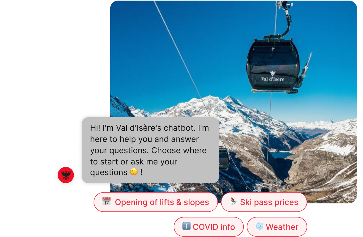 val d'isere chatbot