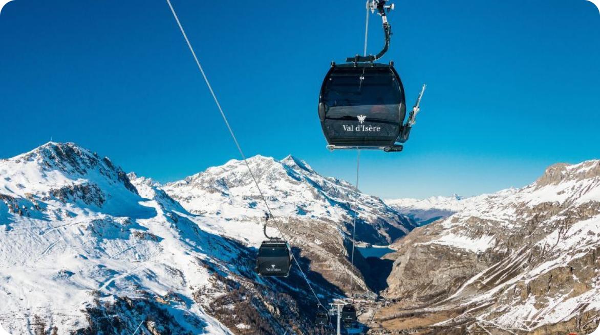 val d'isere ski slope