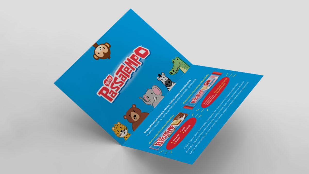 Lançamento Passatempo Nestlé