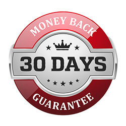 we provide a 30-day money back guarantee