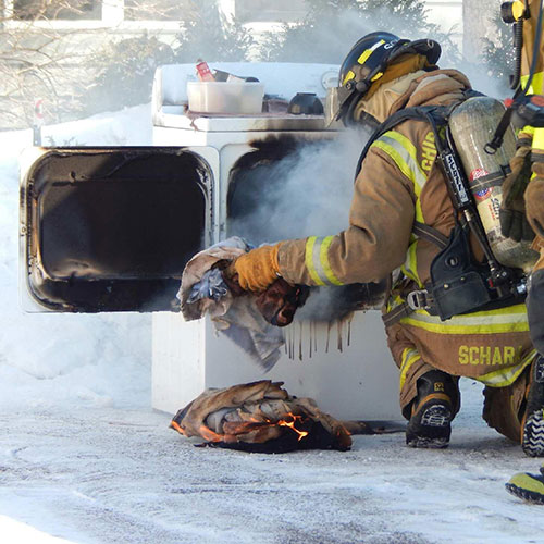 dryer vent cleaning to prevent fire hazards