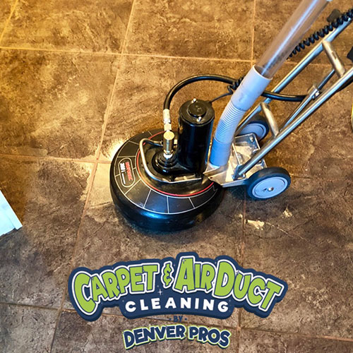 aurora carpet cleaning project