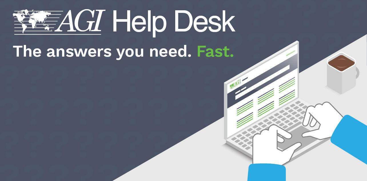 The AGI Help Desk