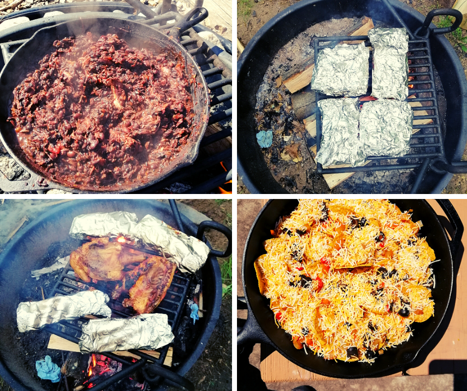 Sample Menu Plan for Camping