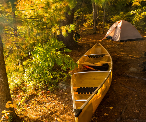 Overnight Paddling Trips on the Pine River