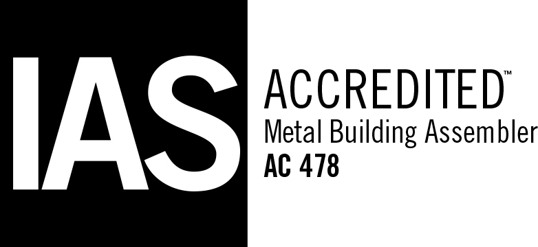 IAS Logo. Steel Worx is IAS Accredited.